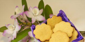 Biscoitos de nata (com gengibre)