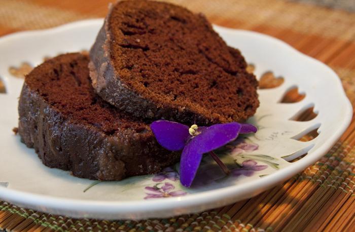 O bolo de chocolate da família