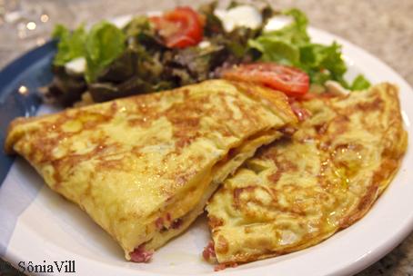 Omelete sem esforço