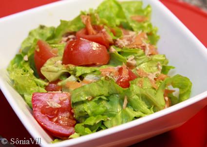 A saladinha e a feira
