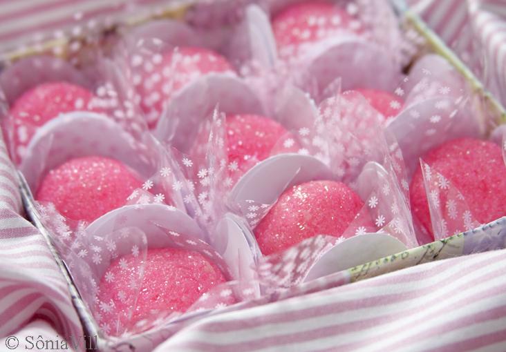 Docinho rosa no Outubro Rosa