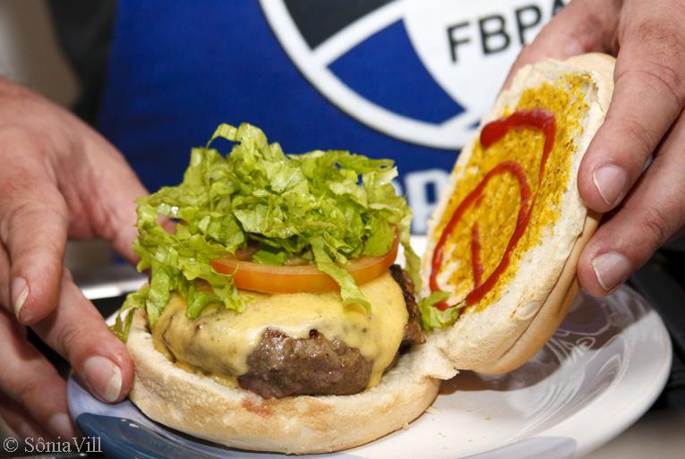 Hambúrguer sim. Por que não?