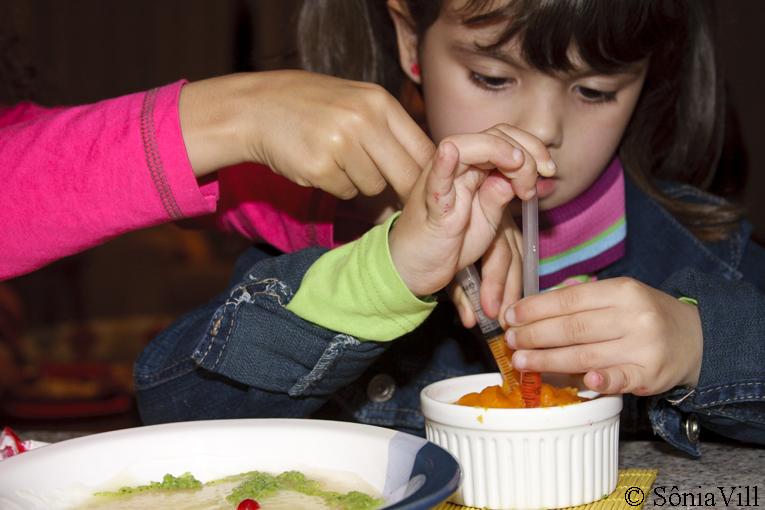 Dia das Crianças é dia de sopa