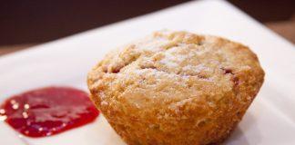 muffins geleia morango