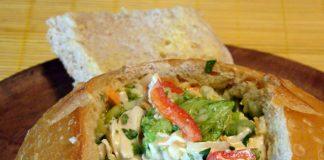 salpicao frango e legumes