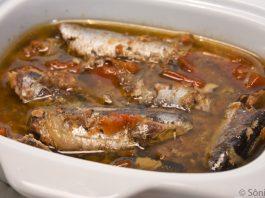 Receita de sardinha à escabeche