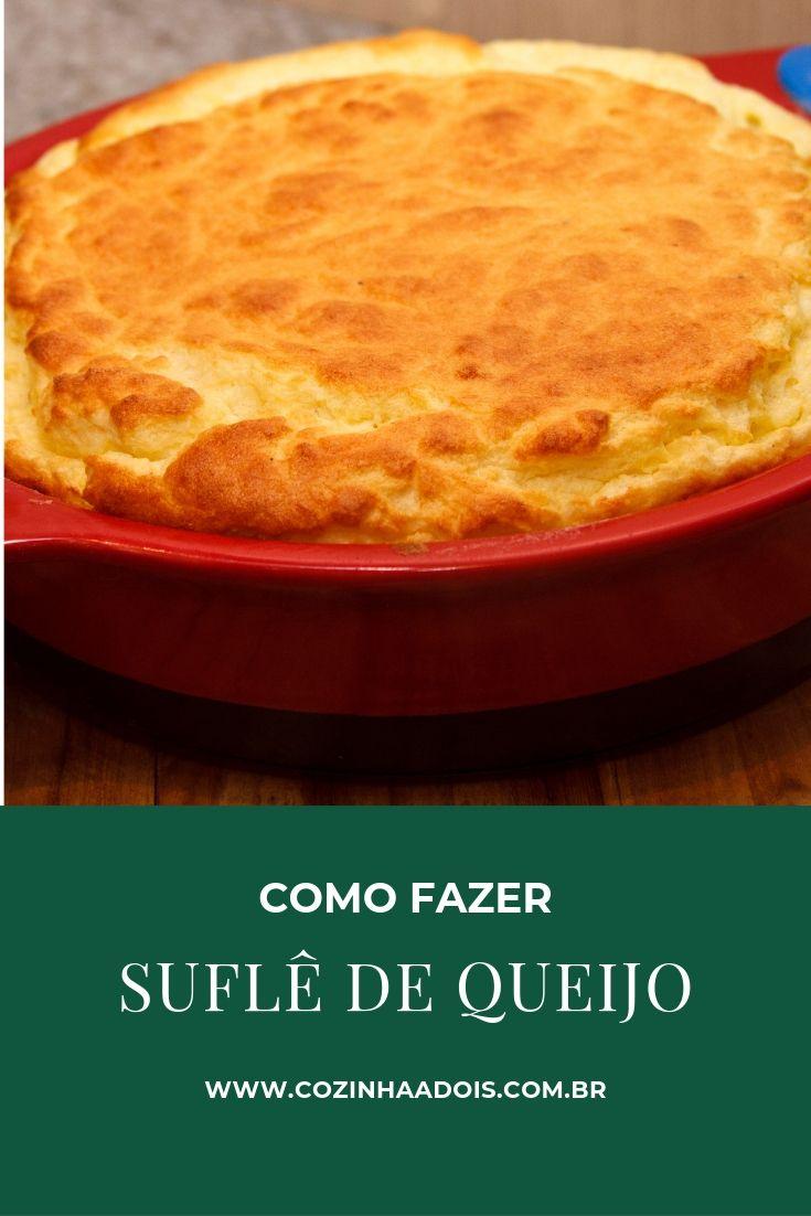 sabor leveza suflê queijo