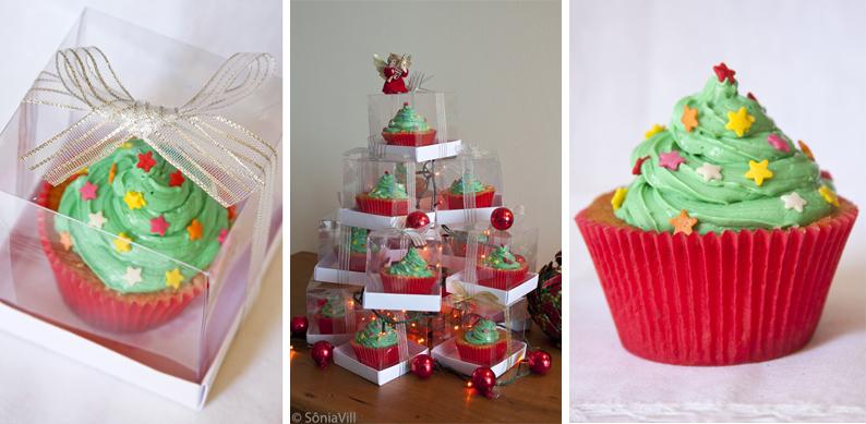 Feliz Natal, com cupcakes