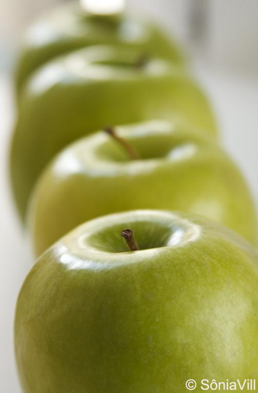 Sopa de maçãs e gorgonzola (Jantar de Natal, 2ª parte)
