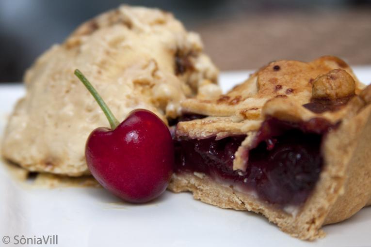 Torta de cereja de sobremesa (Jantar de Natal, final)
