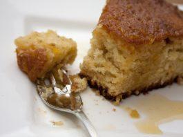 Receita de bolo de laranja - bolo Amor aos pedaços