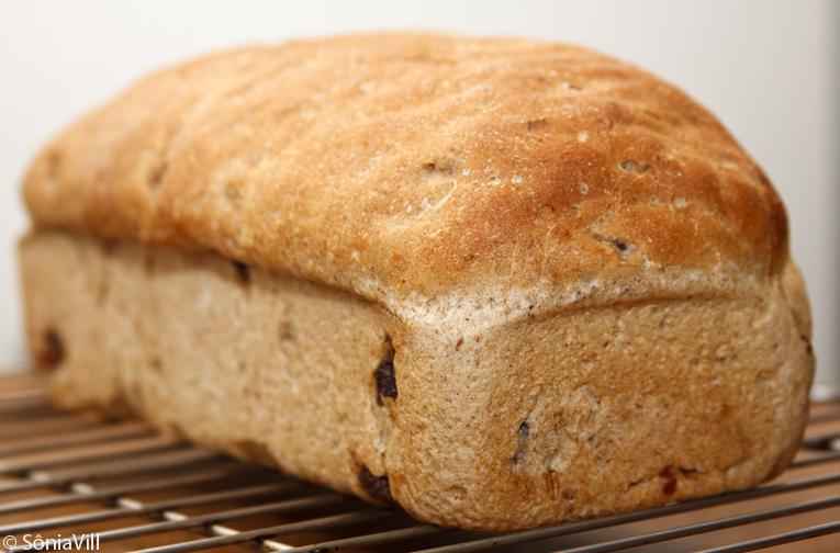Pão integral quase perfeito