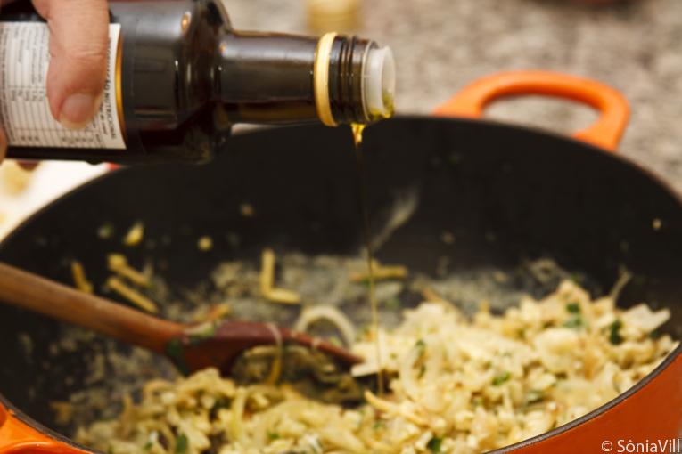 Bacalhau ao Brás com ovos e azeite