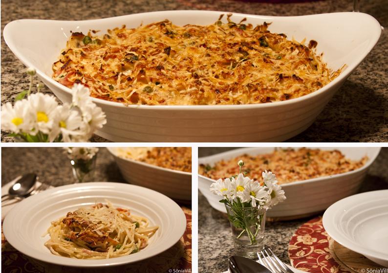 Spaghetti à parisiense