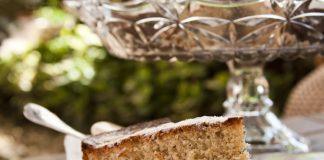 Pão de Ló de Gênova o bolo do Monet