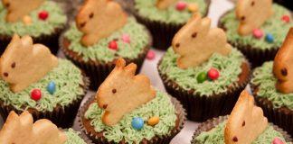 Páscoa com cupcakes