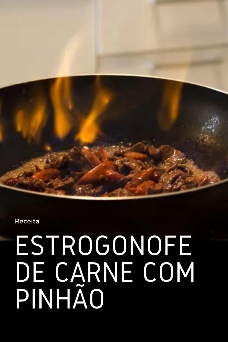 estrogofe pinhao carne