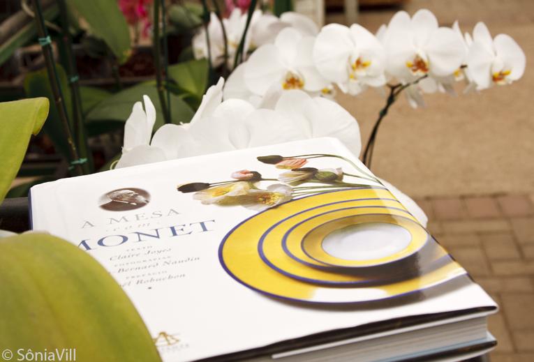 livro A mesa com Monet