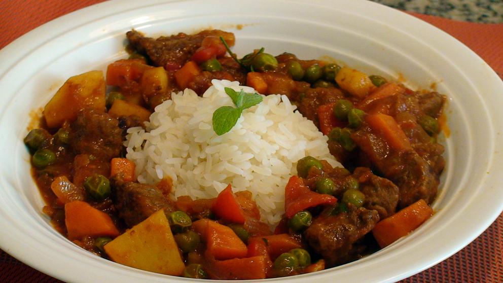 Ensopadinho de carne e vegetais