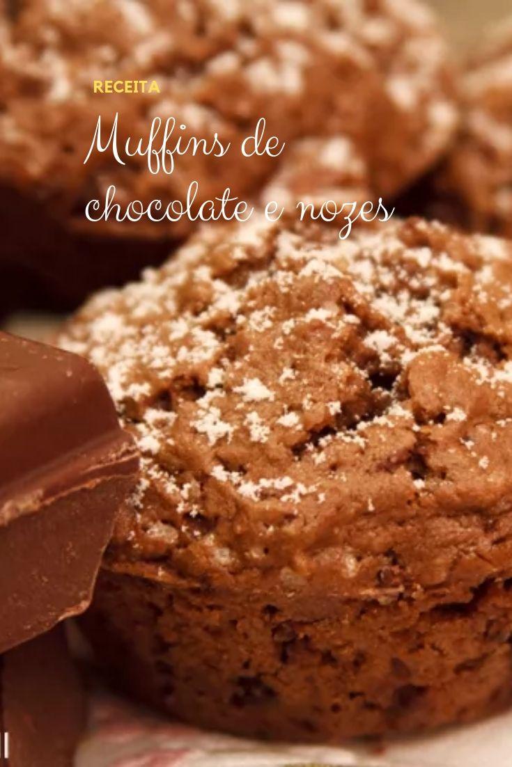 muffins-chocolate-nozes
