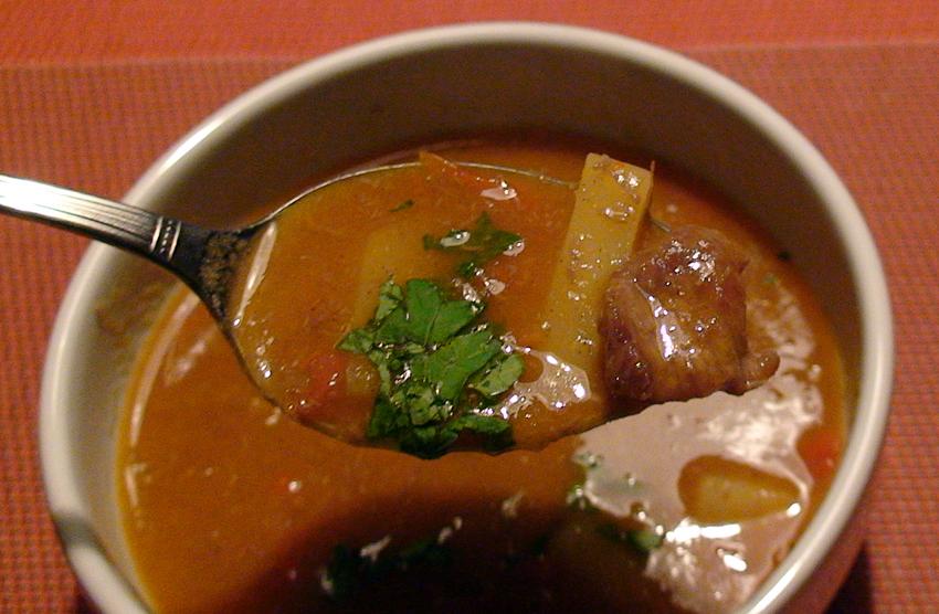 Sopa Húngara (a nossa versão)