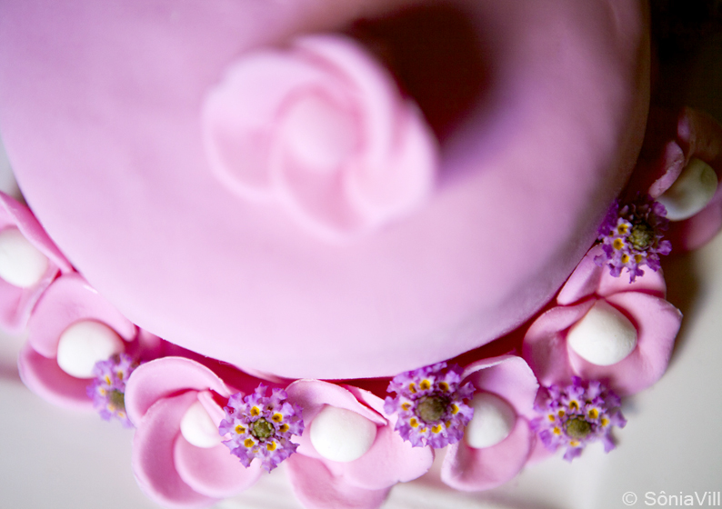 Outubro rosa, bolo rosa