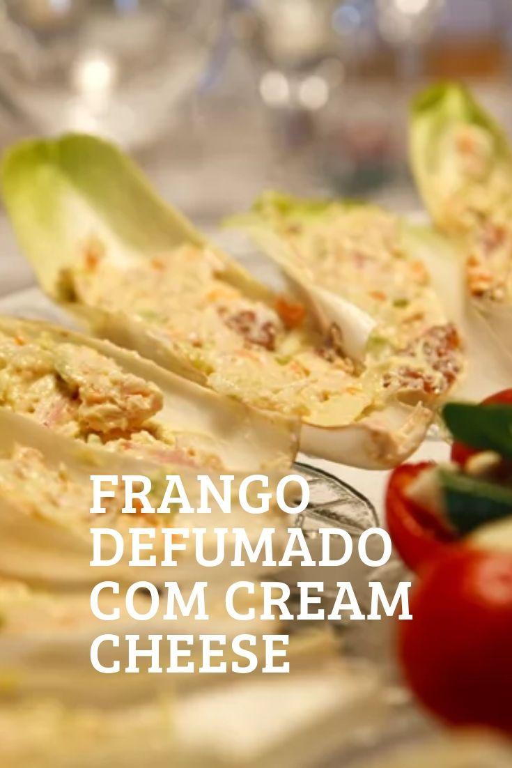 frango defumado cream cheese