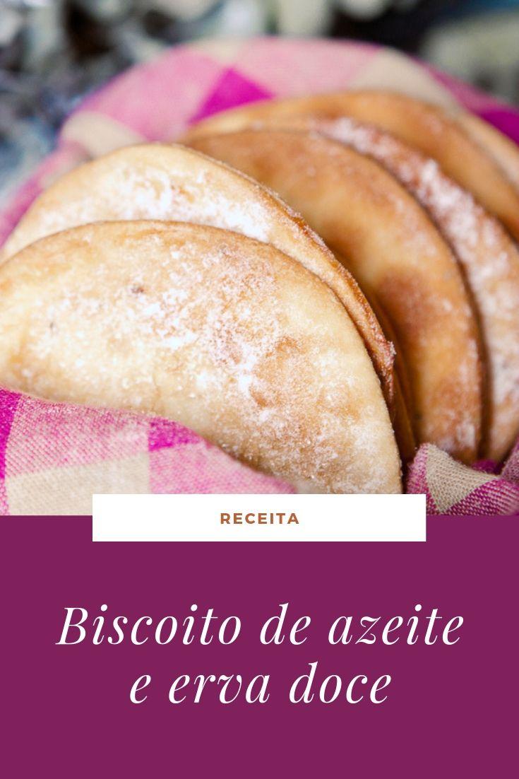 recita biscoito azeite oliva