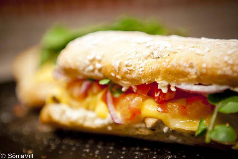 sanduiche frango ciabata