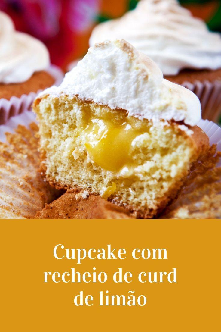 lemon curd cupcake limão