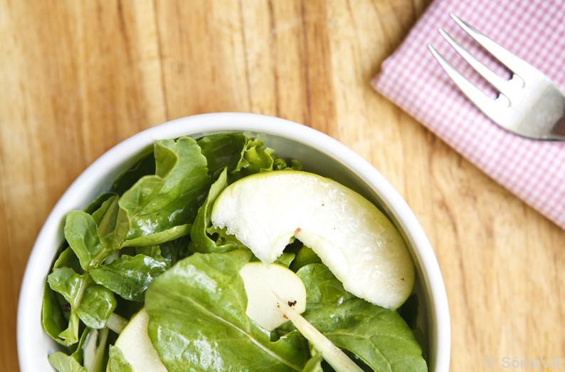 Salada que te quero verde