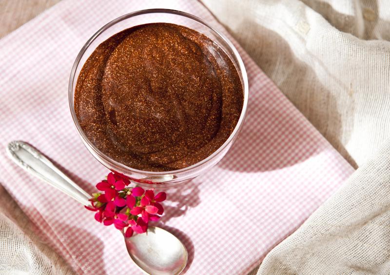 Mousse de chocolate do Olivier