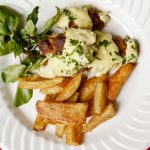 Filet de suíno ao molho de mostarda