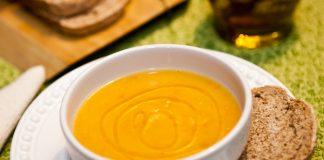 sopa creme cenoura