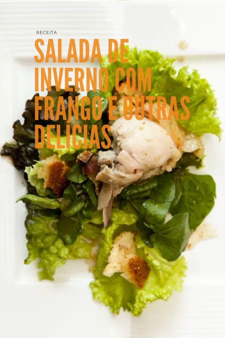 Salada de inverno com frango