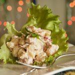 Salada de polvo e batatas
