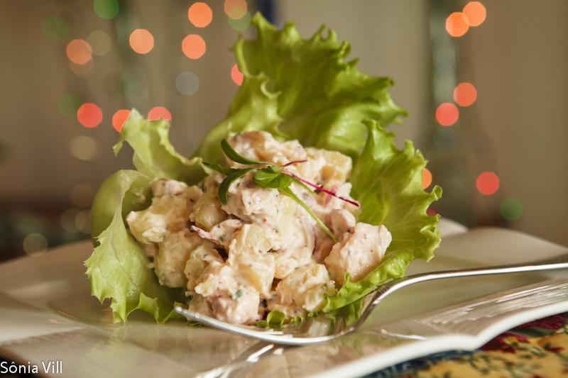 Salada de polvo e batatas – A salada do natal da Quorum 2012