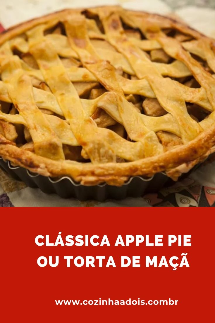 apple pie torta maça