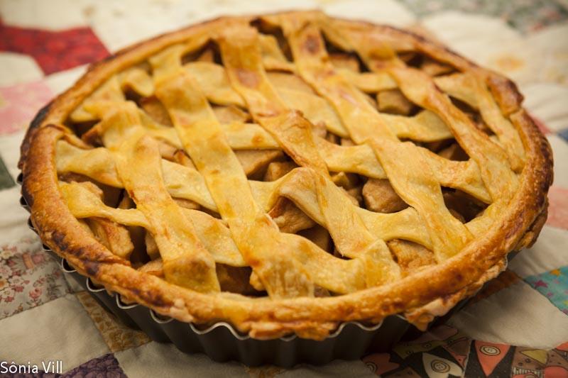 Apple pie ou torta de maçã