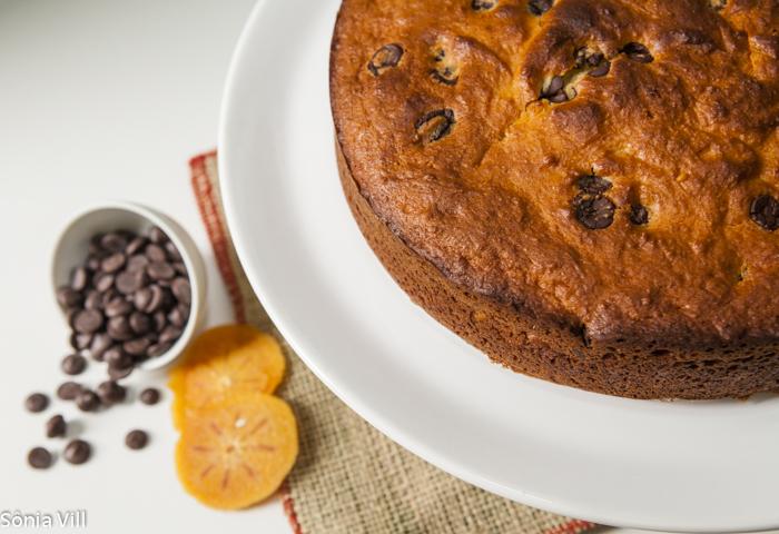 Torta de Ricota com chocolate