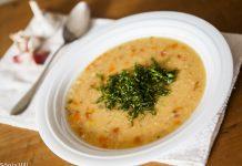 Lentilha- vermelha- sopa