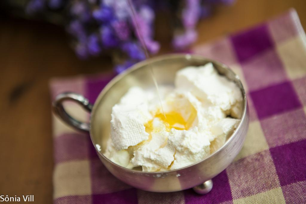 iogurte grego com mel
