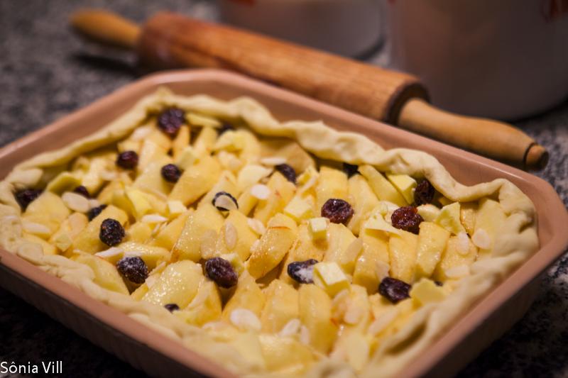 Torta francesa de maçã