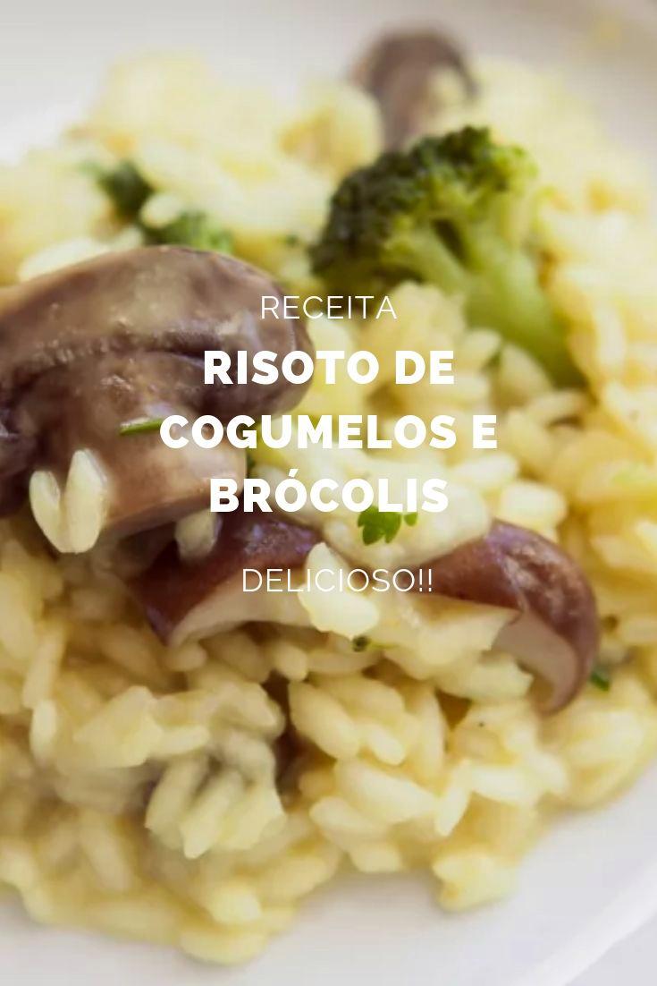 risoto-cogumelos-brocolis