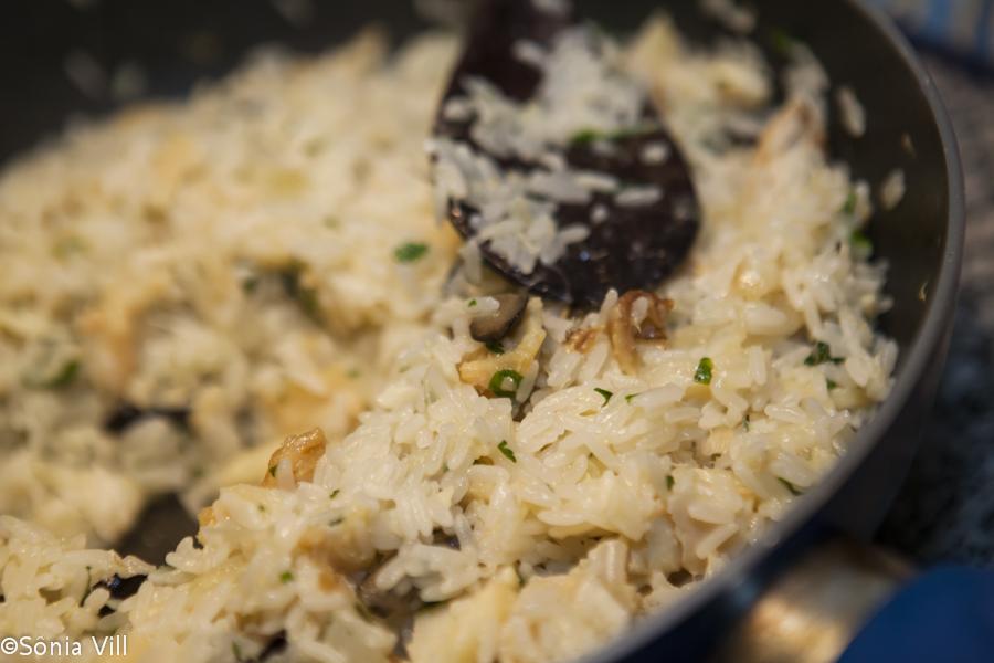 arrozo com bacalhau receita