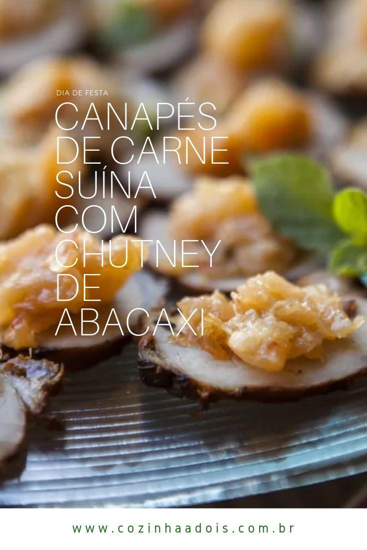 canapés-carne-suina-chutney-abacaxi