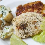 peixe crocante com batata