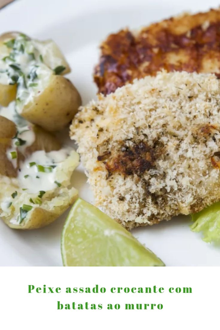 peixe crocante batata