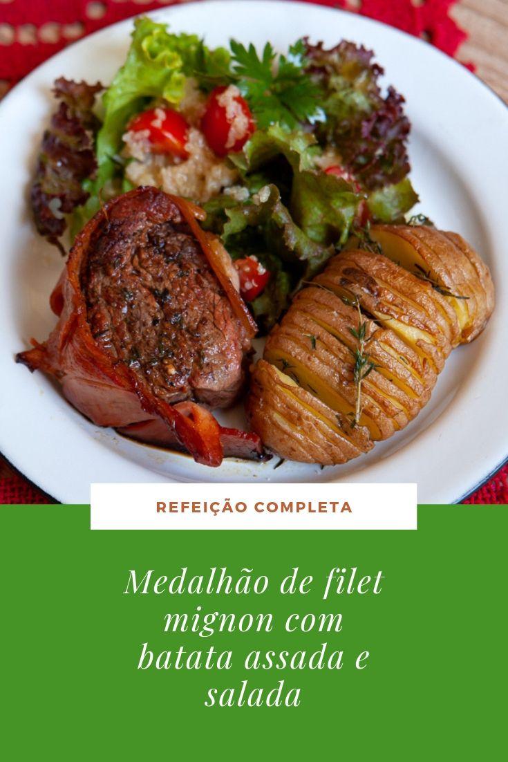 filet-mignon-batata-assada-salada