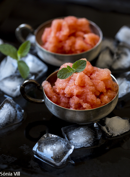 Granita de melancia